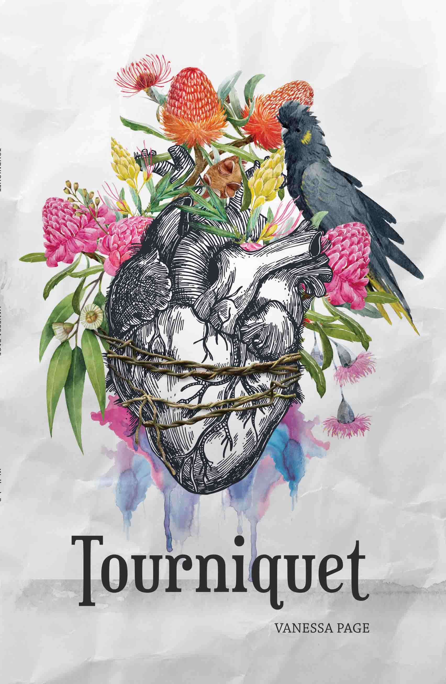 cover 'Tourniquet', Vanessa Page
